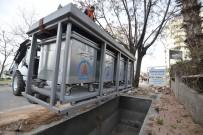 TÜRK PATENT ENSTİTÜSÜ - Çağlayan'da Çöp Konteynerleri Yeraltına Alınıyor