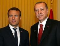 EMMANUEL MACRON - Cumhurbaşkanı Erdoğan Macron ile görüştü