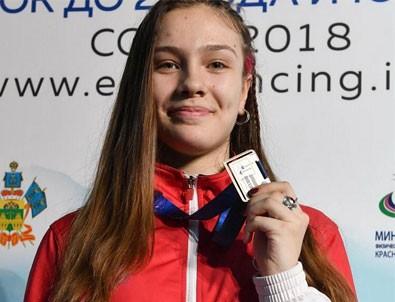 Deniz Selin Ünlüdağ, Avrupa Şampiyonu oldu
