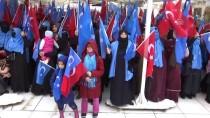 EYÜP SULTAN - Doğu Türkistanlılardan Zeytin Dalı Harekatı'na Destek