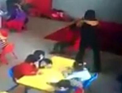 Manisa'da anaokulundaki çocuğa kötü muamele