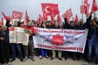 ÖNCÜPINAR - Milli Mutabakat Platformundan Mehmetçiğe Destek