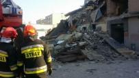 DOĞALGAZ PATLAMASI - Polonya'da Bina Çöktü Açıklaması 1 Ölü