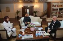 TEKVANDO - Şampiyon Sporcudan Başkan Remzi Aydın'a Ziyaret