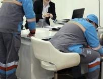 ELEKTRONİK EŞYA - Taşeron işçinin kadroya geçiş sınavları başladı