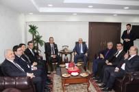 ANAYASA KOMİSYONU - CHP'den BBP Ve DSP'ye Seçim Güvenliği Ziyareti