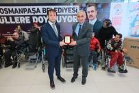 AKÜLÜ ARABA - Gaziosmanpaşa'da Engellilere Medikal Malzeme Yardımı