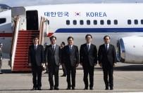 KIŞ OLİMPİYATLARI - Güney Kore Heyeti Kuzey Kore'de