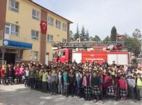 HASANLAR - Hisarcık İtfaiyesinin Okullarda Deprem Ve Yangın Tatbikatları