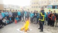 İTFAİYE MÜDÜRÜ - İlkokul Öğrencilerine Yangın Eğitimi