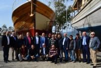 ÇAYAĞZı - İMEAK DTO Başkanı Kalkavan, Denizcilerin Sorunlarını Dinledi