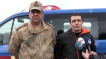 MUSTAFA AKKUŞ - Jandarmadan Kaçak Balık Avına 'Drone'lu Takip