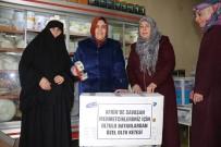 CEVIZLI - Oltulu Bayanlar Yaptıkları Keteleri Afrin'e Götürmek İçin Yola Çıktılar