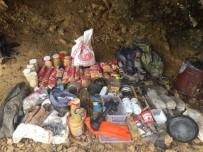 Teröristlere Ait Sığınak Ve Mağaralar İmha Edildi
