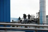 KAYYUM - TMSF'ye Devredilen Fabrikada Yangın
