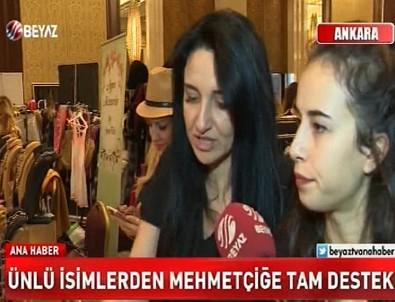 Türk kadını Mehmetçiğin yanında