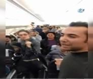 PEGASUS - Yolcular Uçakta Sinir Krizi Geçirdi