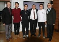 MUTFAK GÜNLERİ - Başarılı Aşçılardan Başkan Yılmaz' A Ziyaret