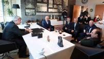 ÖMER KARAMAN - Başkan Karaosmanoğlu'dan Tekstil Fabrikasına Ziyaret