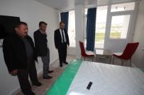 OTOBÜS SEFERLERİ - Başkan Özaltun'dan Hasta Konukevine Ziyaret