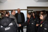 İMDAT SÜTLÜOĞLU - Bayan Futbol Takımından ÇAYKUR'a Teşekkür Ziyareti