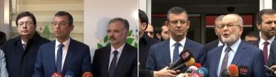 CHP'den SP ve HDP'ye ziyaret