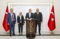EGEMEN BAĞIŞ - Egemen Bağış'tan Vali Zorluoğlu'na Ziyaret