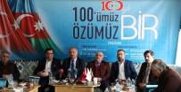 DOĞALGAZ BORU HATTI - Erzurum'da Muhteşem Program Açıklaması '100'Müz Özümüz Bir'