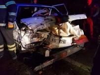 ALI KOÇAK - Fatsa'da Trafik Kazası Açıklaması 10 Yaralı