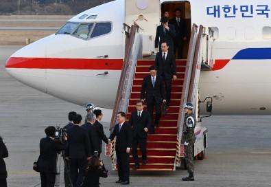 Güney Kore Heyeti, Kuzey Kore'den Ayrıldı