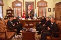 BOLAT - İl Müdürü Bolat'dan Başkan Yağcı'ya Veda Ziyareti