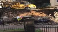 KARTAL BELEDİYESİ - İstanbul'da Faciadan Dönüldü Açıklaması İstinat Duvarı Çöktü