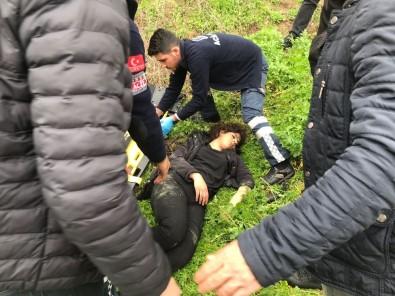 Kalede selfie çekerken düşerek ölen adamın kızı da aynı yerden düştü