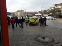 TİCARİ TAKSİ - Kaza Güvenlik Kameralarına Yansıdı