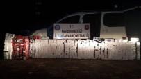 Mardin'de 18 Bin 210 Paket Kaçak Sigara Ele Geçirildi