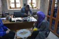 ÖZEL TASARIM - Milli Rallici Çetinkaya, Mardin Olgunlaşma Enstitüsü'nü Ziyaret Etti