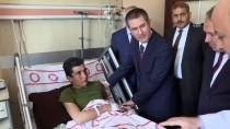 MUSTAFA KEMAL ÜNIVERSITESI - Milli Savunma Bakanı Canikli, Sınır Hattında