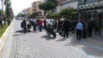 MAHMUTLAR - Motosiklet Yayaya Çarptı Açıklaması 3 Yaralı