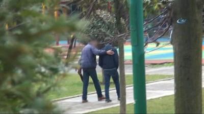 Lise öğrencisini taciz eden adam gözaltı alındı