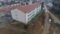 İSTANBUL VALİLİĞİ - (Özel) Şişli Endüstri Meslek Lisesi'nde Son Durum Havadan Görüntülendi