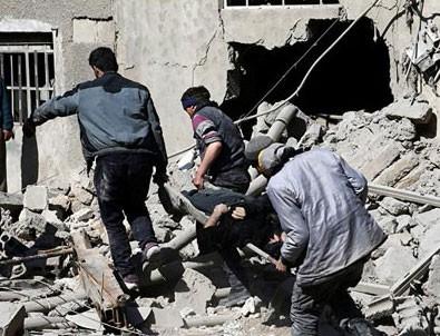 Rejim Doğu Guta'da yine kimyasal silah kullandı