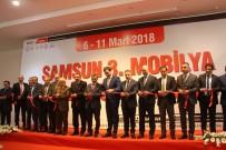TURAN ÇAKıR - Samsun 3. Mobilya Ve Dekorasyon Fuarı Açıldı