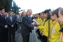 MEHMET CEYLAN - Vali Ceylan'dan Marmaraereğlisi Belediyespor Bayan Basketbol Takımına Tebrik