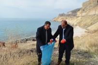 VAN GÖLÜ - Van Gölü Sahilinde Temizlik Kampanyası
