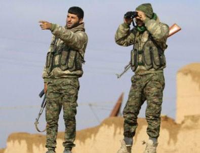 Köşeye sıkışan YPG'ye destek birliği