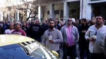 ATINA - Yunanistan'da 'Uber' Protestosu