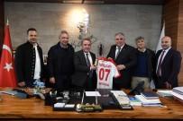 ÖMER ÖZKAN - Antalyaspor'dan Başkan Böcek'e Teşekkür