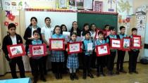 ALP ARSLAN - Azerbaycanlı Öğrencilerden Afrin'deki Mehmetçik'e Mektup