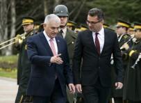 RESMİ TÖREN - Başbakan Yıldırım, KKTC Başbakanı Erhürman'ı Resmi Törenle Karşıladı