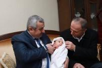 İBRAHIM AKGÜN - Başkan Baran'dan Hoş Geldin Bebek Ziyareti